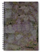 Blooming  Almonds At Night Spiral Notebook