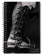 Medieval Faire Boot Detail Spiral Notebook