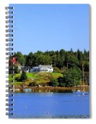 Booth Bay Spiral Notebook