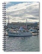 Boothbay Harbor 0231 Spiral Notebook