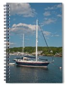 Boothbay Harbor 1390 Spiral Notebook