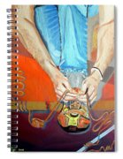 Bootlace Spiral Notebook