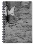Boots And Horse Hooves Spiral Notebook