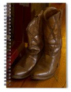 Boots Not Made For Walking Spiral Notebook