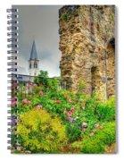 Boppard Garden Ruins Spiral Notebook