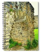 Boppard Germany Ruins Spiral Notebook