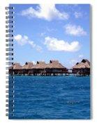 Bora Bora Lagoon Spiral Notebook