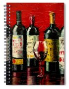 Bordeaux Collection Spiral Notebook