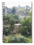 Bordeaux Village Cloud Of Smoke  Spiral Notebook