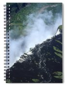 Border Crossing At The Falls Spiral Notebook