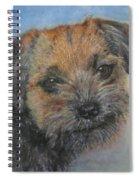 Border Terrier Jack Spiral Notebook