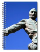 Borglum's General Philip Sheridan -- A Partial View Spiral Notebook