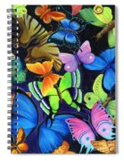 Born Again Spiral Notebook