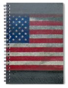 Born In The Usa Spiral Notebook