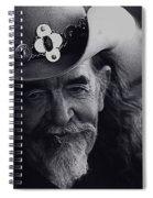 Born To The West Homage 1937 Buffalo Bill Helldorado Days Tombstone Arizona 1968-2008 Spiral Notebook