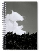 Borobudur Sky Cloud Spiral Notebook