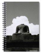 Borobudur Surreal Spiral Notebook