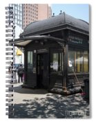 Borough Station Spiral Notebook