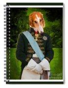 Borzoi Spiral Notebook