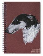 Borzoi Spiral Notebook