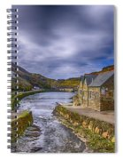 Boscastle Harbour Spiral Notebook