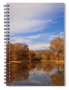 Bosque Del Apache Reflections Spiral Notebook