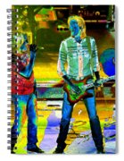 Boston #78 Enhanced In Cosmicolors Spiral Notebook