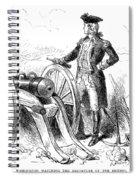 Boston: British Evacuation Spiral Notebook