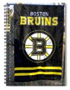 Boston Bruins Flag Spiral Notebook