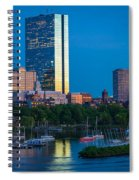 Boston By Night Spiral Notebook