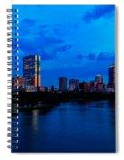 Boston Evening Spiral Notebook