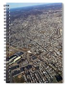 Boston From Above Spiral Notebook