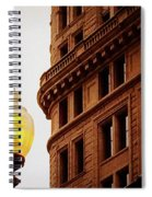 Boston Gas Light Spiral Notebook