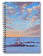Boston Light Spiral Notebook