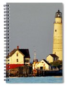 Boston Light Spiral Notebook