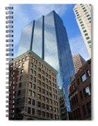 Boston Ma Architecture Spiral Notebook