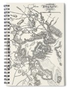 Boston: Map, 1775-1776 Spiral Notebook