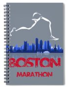 Boston Marathon3 Spiral Notebook