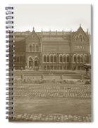 Boston Museum Of Fine Art On Copley Square Massachusetts Circa 1900 Spiral Notebook