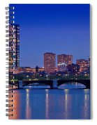 Boston Nights 2 Spiral Notebook