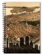 Boston Old And New Spiral Notebook