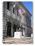 Boston Public Library Spiral Notebook