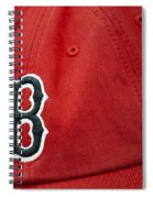 Boston Red Sox Baseball Cap Spiral Notebook