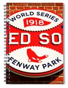 Boston Red Sox World Series Champions 1918 Spiral Notebook