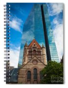 Boston Trinity Church Spiral Notebook
