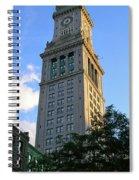 Boston Waterfront District 3527 Spiral Notebook