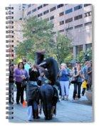 Bostonian Antics Spiral Notebook