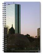 Bostons John Hancock Tower Massachusetts Spiral Notebook