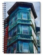 Boston's North End Spiral Notebook