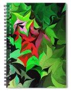 Botanical Fantasy 071613 Spiral Notebook